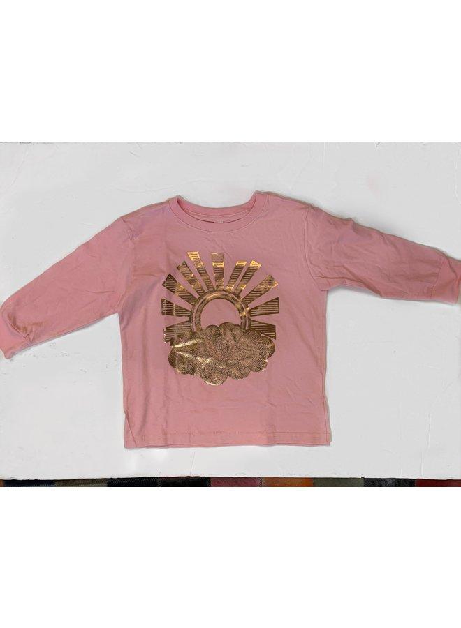 T Pink Sunburst