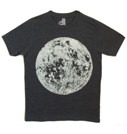 Lucky Fish T Charcoal Moon
