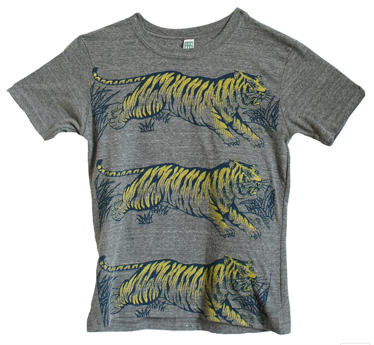 Lucky Fish T Grey Tigers