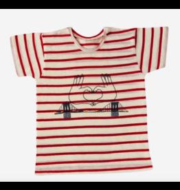 Mademoiselle à Soho T Shirt Brooklyn Red Stripes
