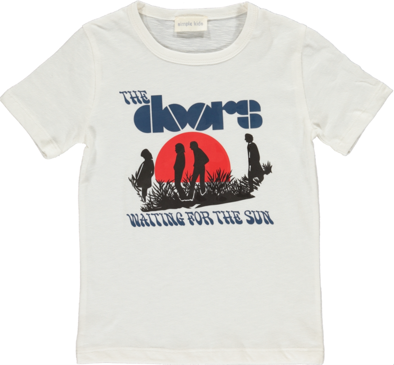 Simple Kids Door Tshirt Milk