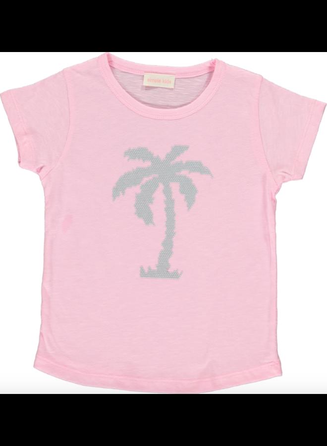 Palm Tshirt Pink