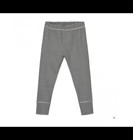 Gray Label Leggings Black Stripe