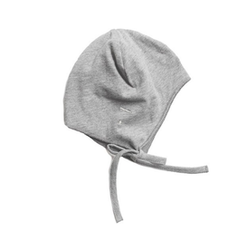 Gray Label Hat Strings Grey