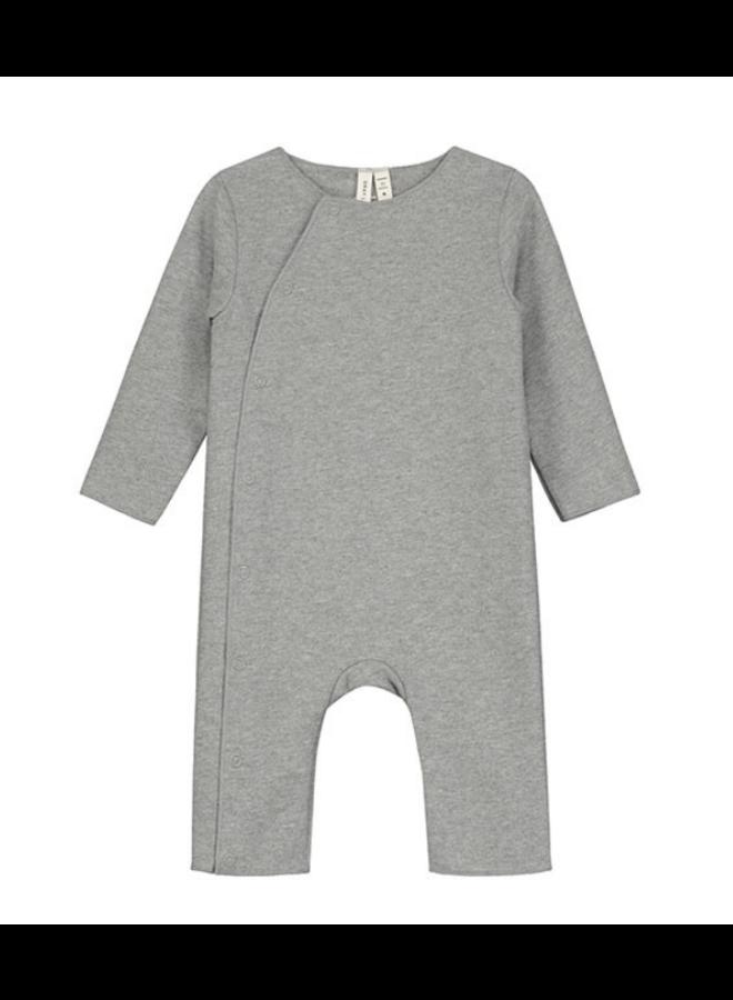 Body Suit Snaps Grey