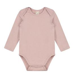Gray Label Vintage pink collar onesie