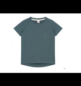 Gray Label T Shirt Crew Blue