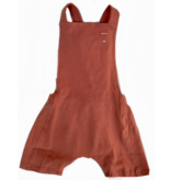Gray Label Baby Short Salopette Red