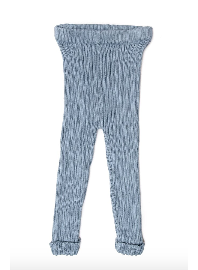 Knitted Leggings Blue