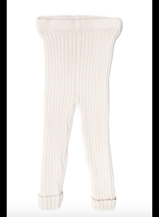 Knitted Leggings Natural