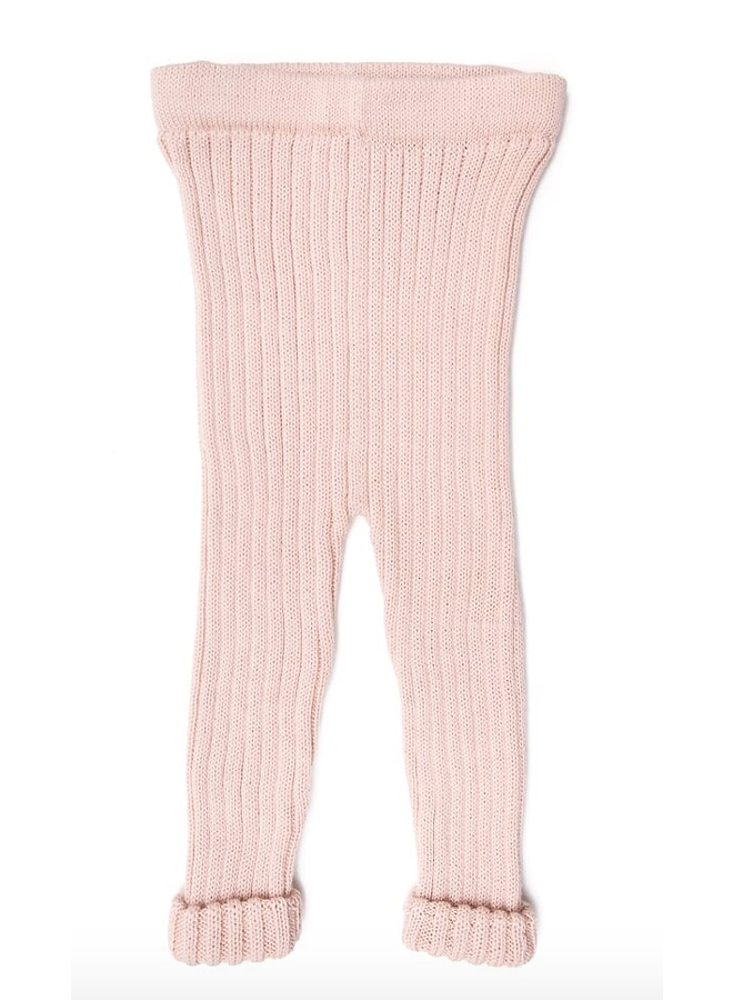 Knitted Leggings Pink