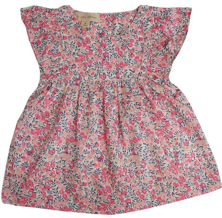 la petite collection Fleece Dress Liberty Wiltshire