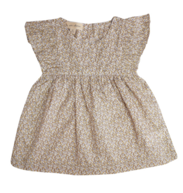 la petite collection Fleece Dress Liberty Pepper