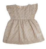 la petite collection Fleece Dress Liberty Pepper