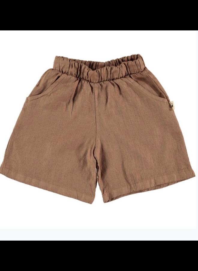 Shorts Milan Linen Tile