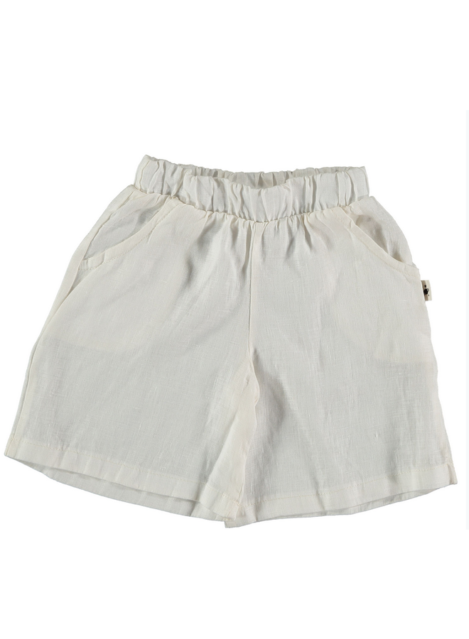 Shorts Milan Linen Ivory
