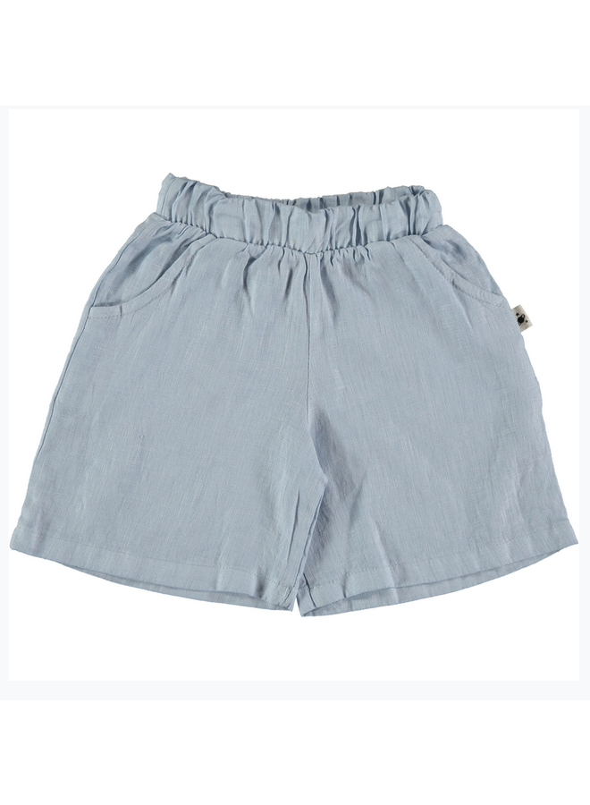 Shorts Milan Linen Blue