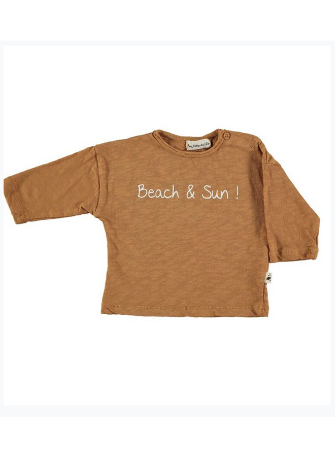 T Shirt Pol Caramel