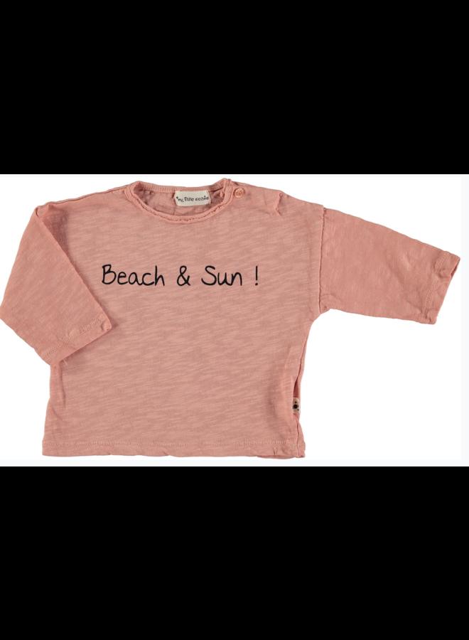 T Shirt Pol Peach
