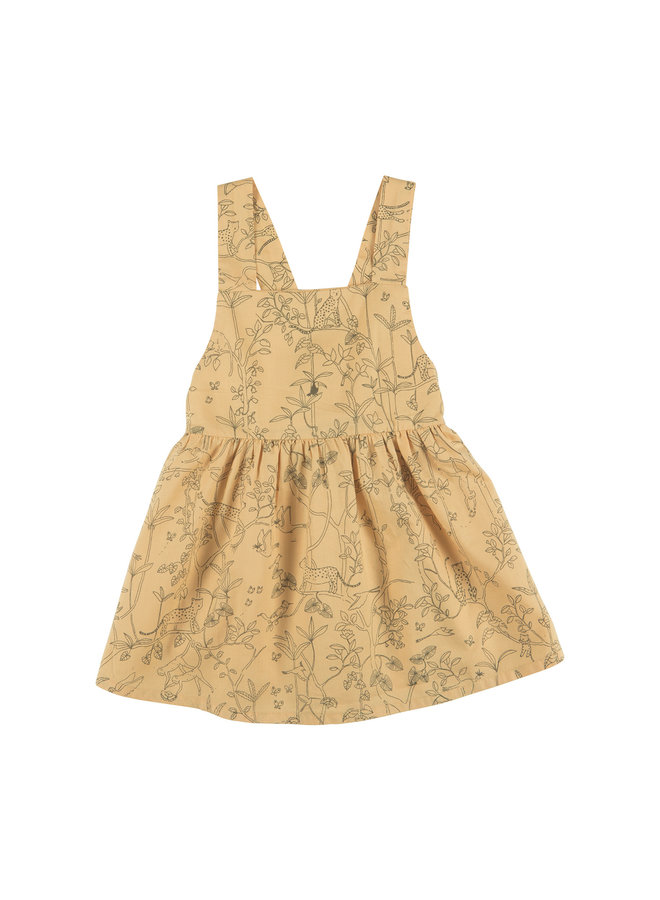 Dress W Canopy Ochre