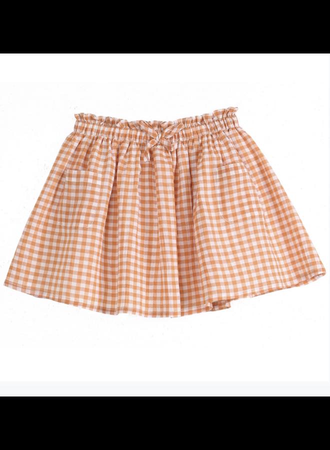 Skirt Gingham Maple