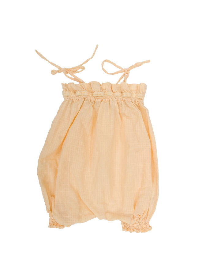 Audy Romper Cantalupe
