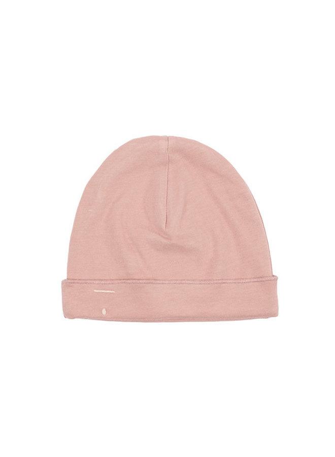 Baby Beanie vintage pink