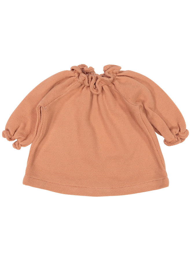 Smock Top Bee Knit