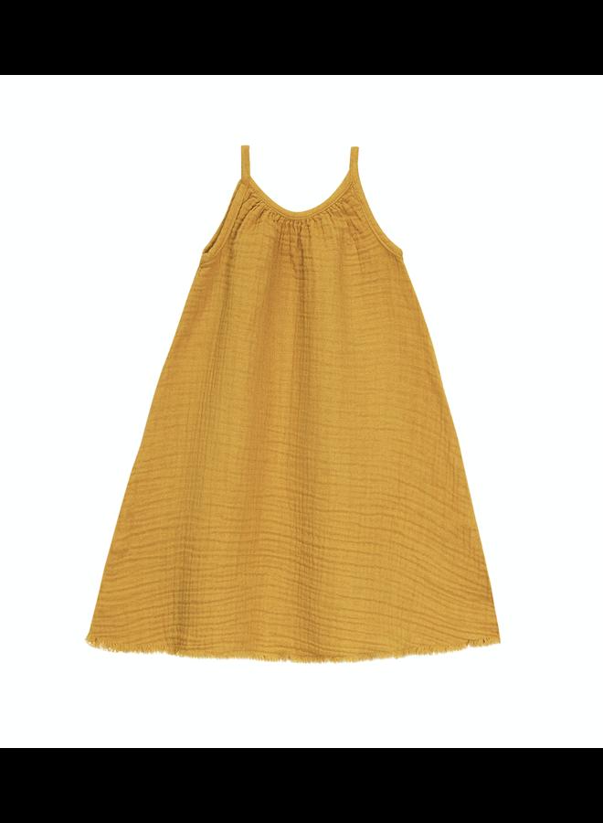 Dress Gauze Golden