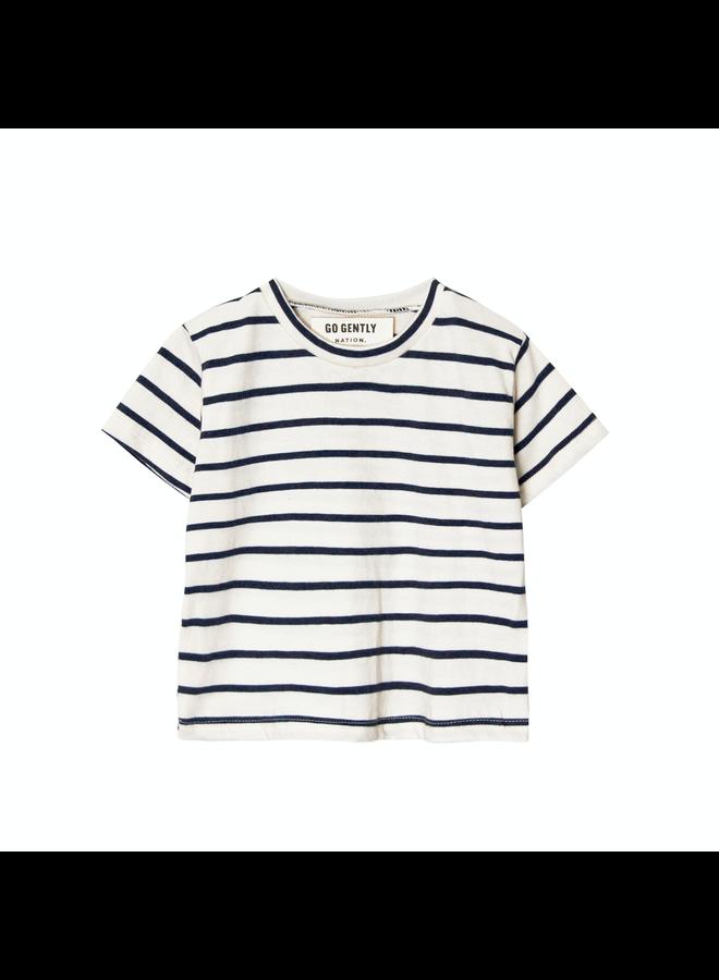 T Shirt Navy Str