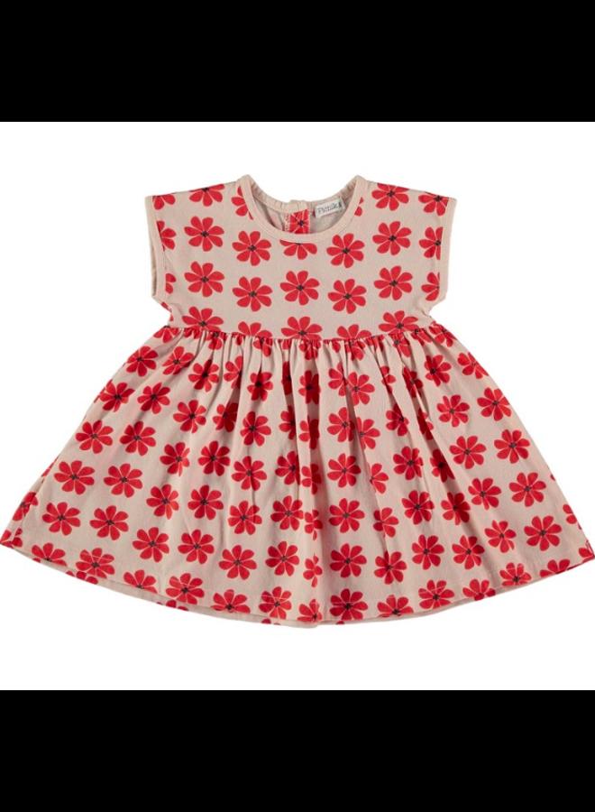 Dress Red Flowers