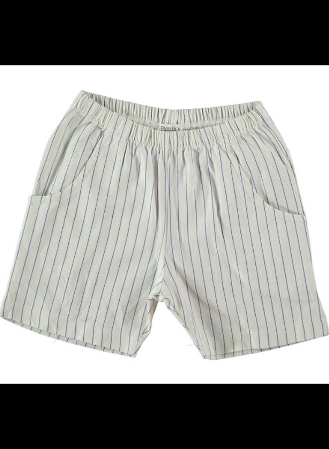 Shorts White Stripe