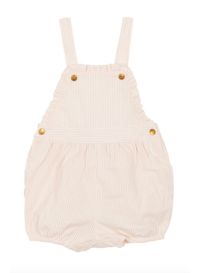 Overall Seer Pink/White