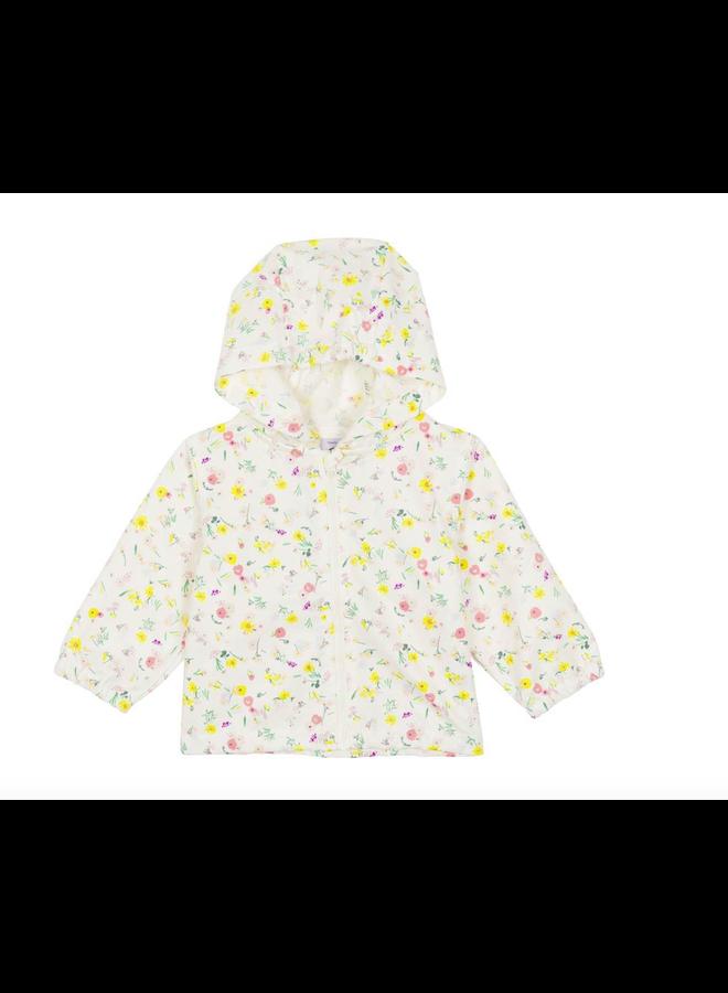 raincoat floral