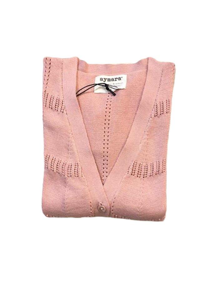 Cardigan April Pink