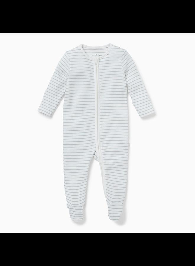Zip-Up Sleepsuit Teal