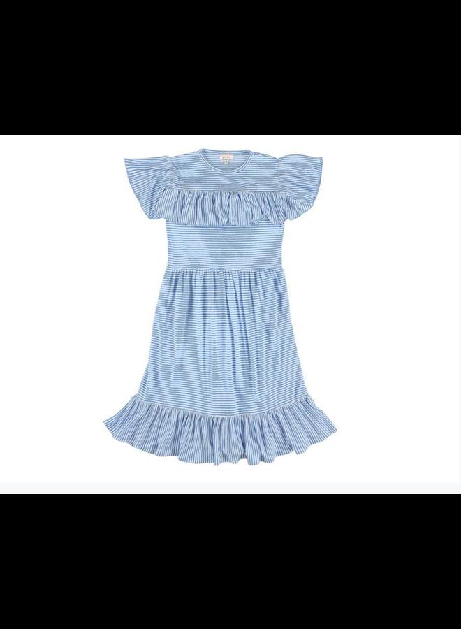 Lucky Stripe Bleu Dress