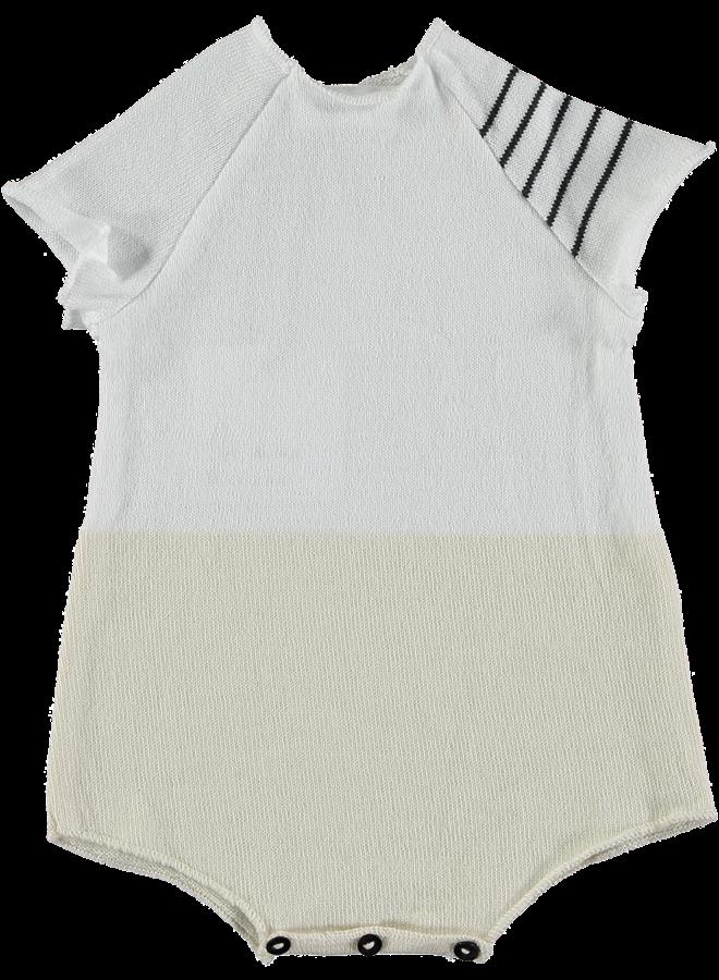 Romper white/natural