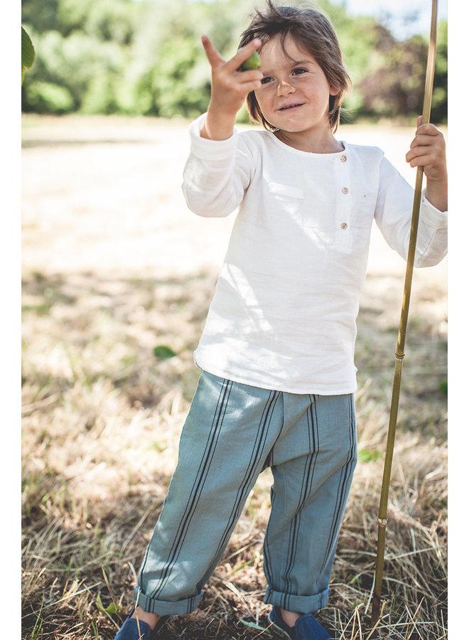 Marlito Pants linen stripes
