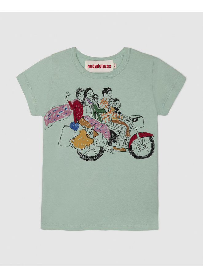 Six on a Bike T