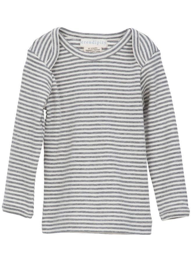 T Shirt Grey Stripe