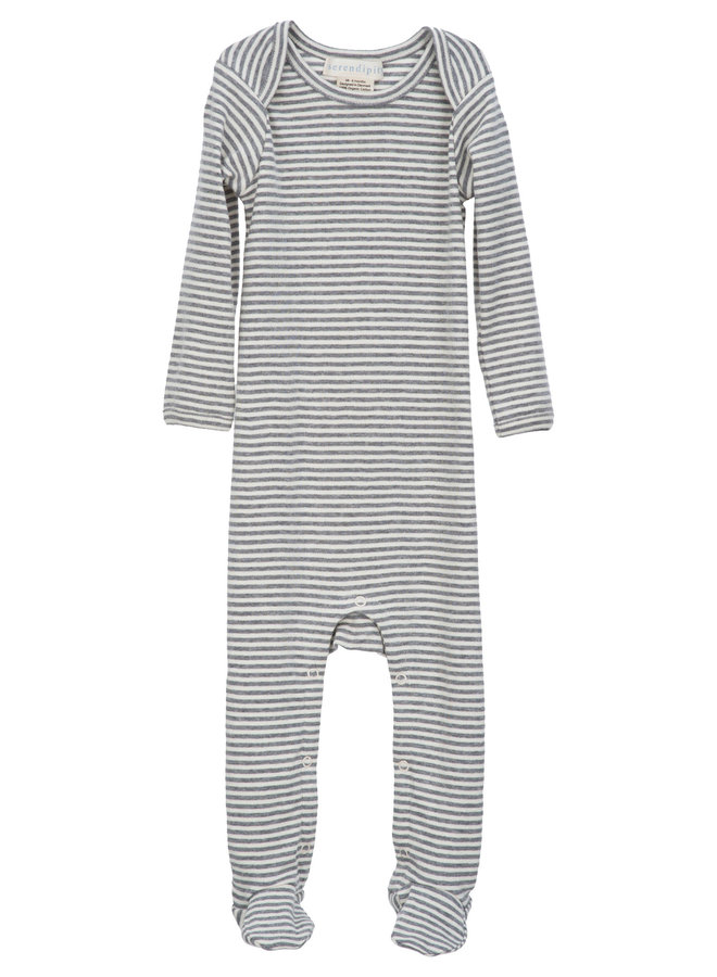 Suit Stripe Grey