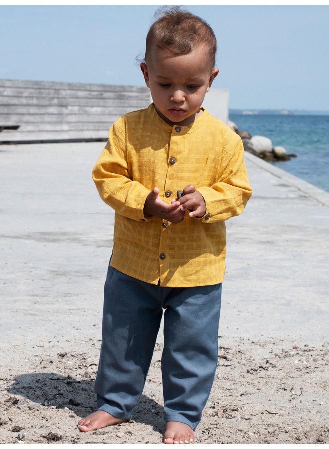 Shirt Golden Checks