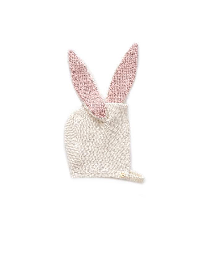 Bonnet Bunny White