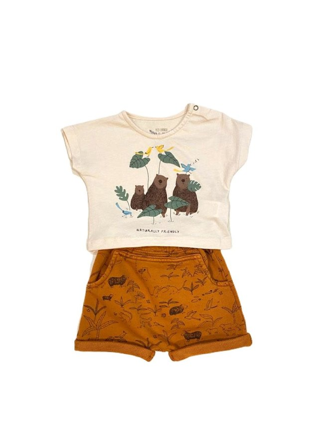 Shorts Canopy Ginger 3-6m