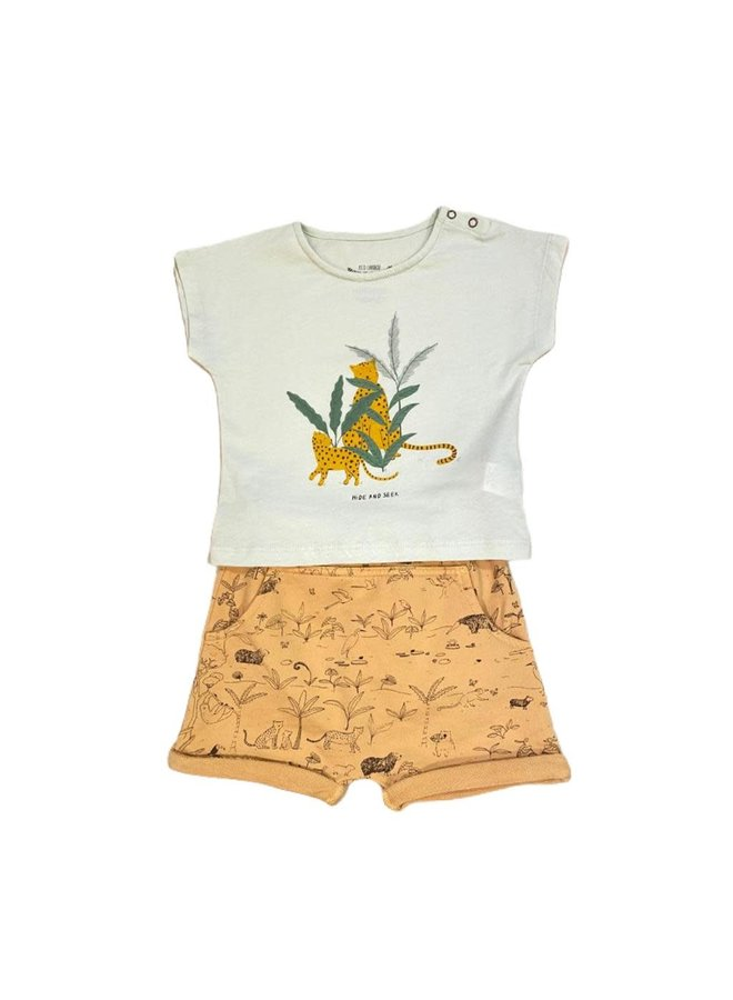 Shorts Terry Ochre