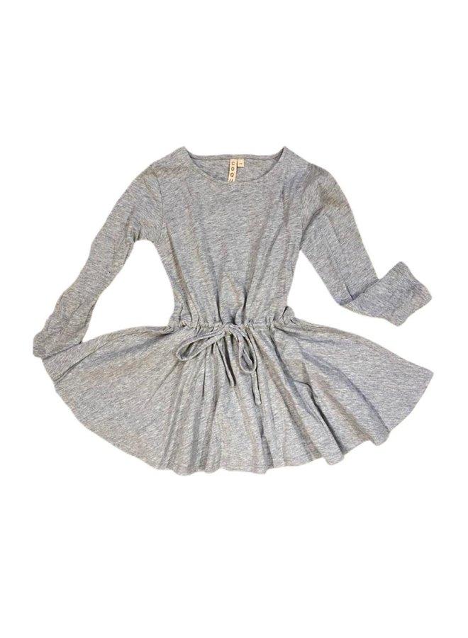 Organic Grey Dress LS