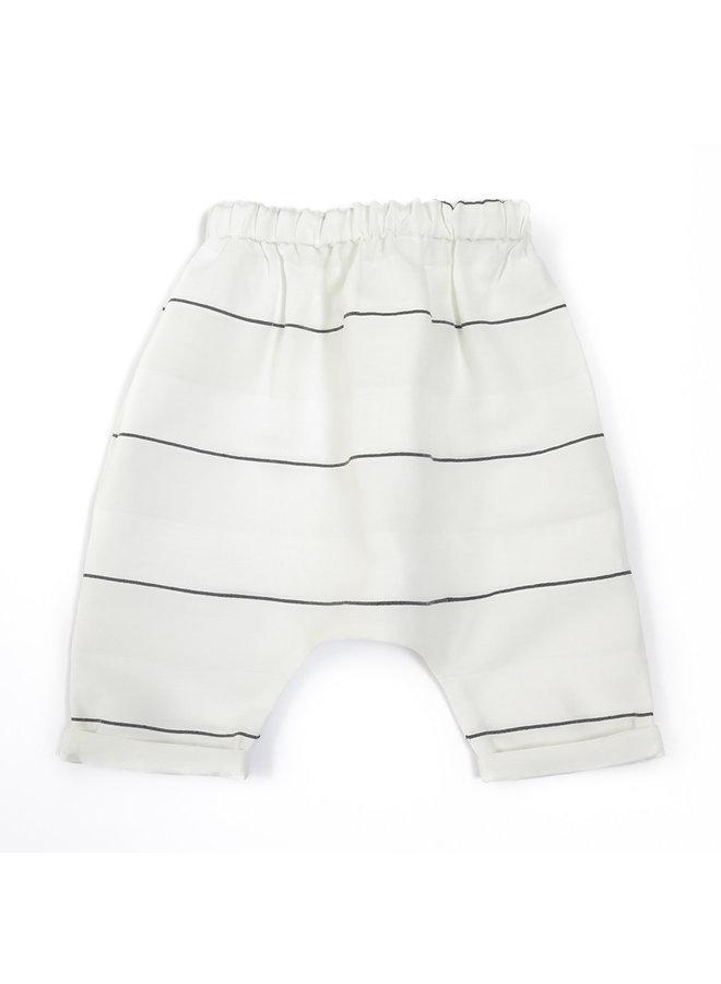 Pants Piri White Stripes