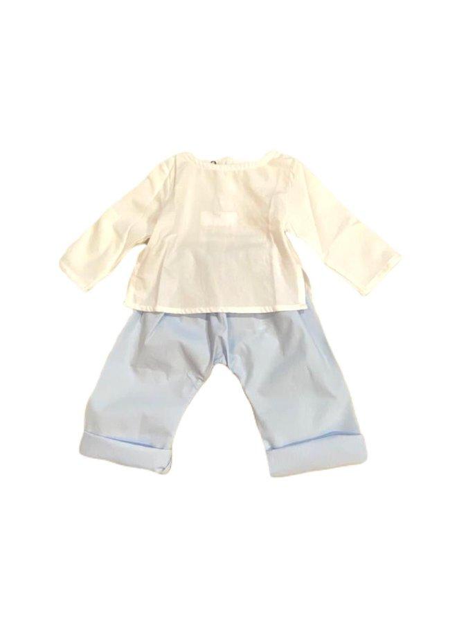 Pants Blue 6014