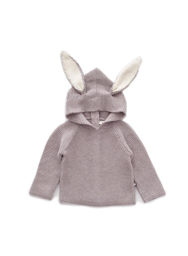 Hoodie Bunny Grey